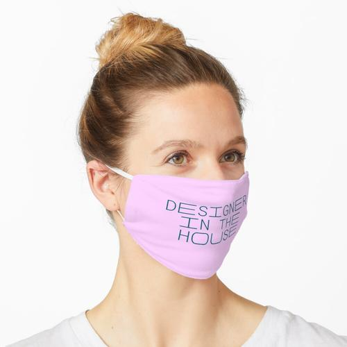Designer im Haus, Modedesigner, Produktdesigner, Urban Designer, UX Designer Maske