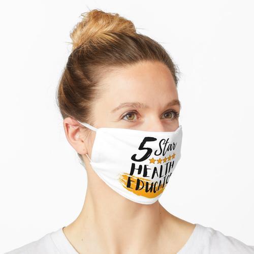 5-Sterne-Gesundheitserzieher | Gesundheitserzieher Memes Maske
