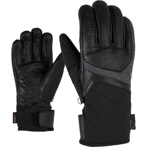 ZIENER Damen Handschuhe KRISTALL AS(R) AW, Größe 7 in black
