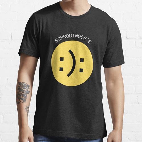 Schrödingers Smiley - Schrödingers Smiley Essential T-Shirt