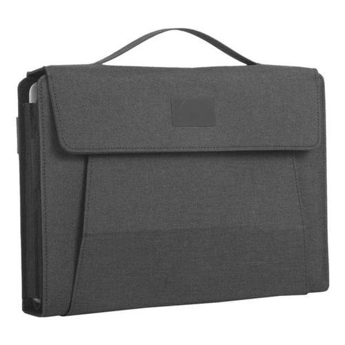 Mobile Office »FIORI« A4 für Notebooks bis 13,3 Zoll grau, Alassio, 34.5x27x4 cm