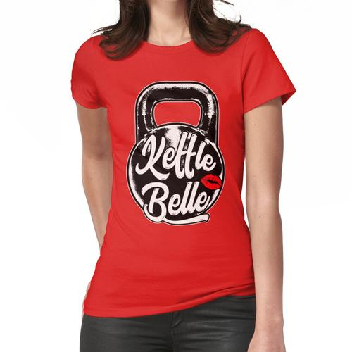 Kettlebell Kettle Belle Gym Training Frauen T-Shirt