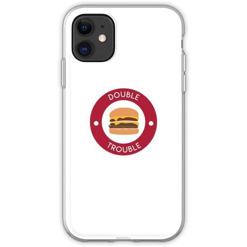 Doppelter doppelter Burger Flexible Hülle für iPhone 11