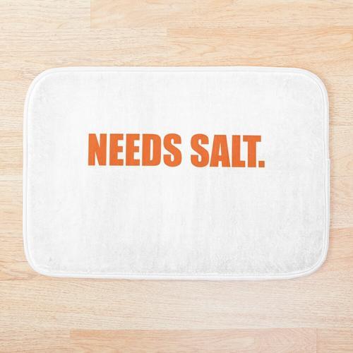 Braucht Salz Badematte