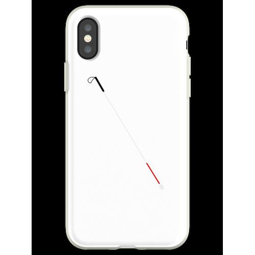 Blindstock Flexible Hülle für iPhone XS