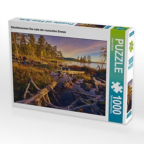 Naturbelassener See nahe der russischen Grenze Foto-Puzzle Bild von Bernd Schiedl Puzzle