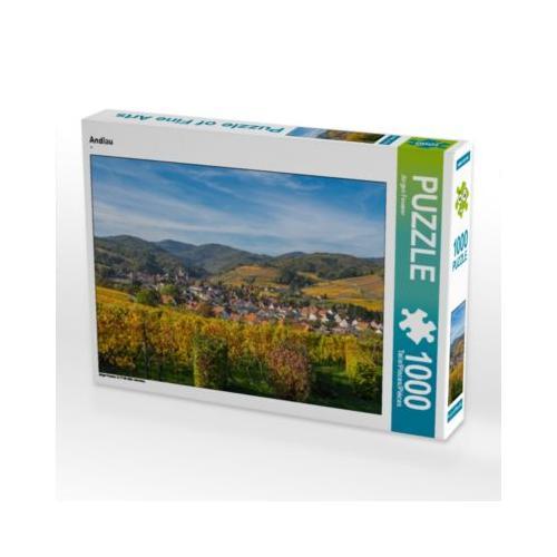 Andlau Foto-Puzzle Bild von JF-Fotografie Puzzle