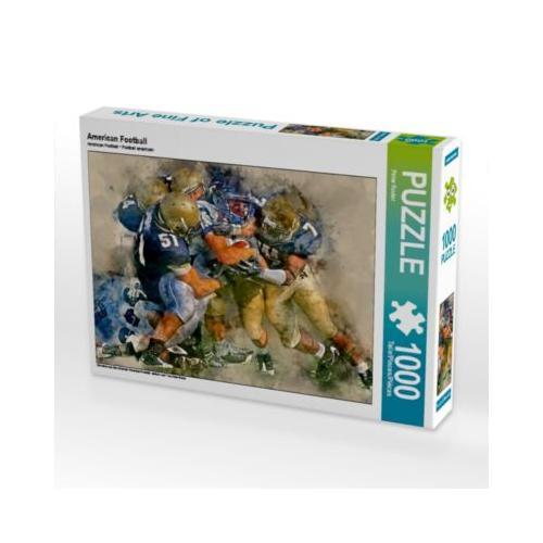 American Football Foto-Puzzle Bild von Peter Roder Puzzle