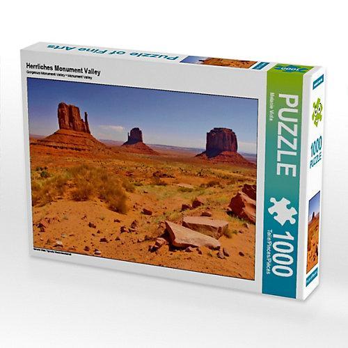 Herrliches Monument Valley Foto-Puzzle Bild von Melanie Viola Puzzle