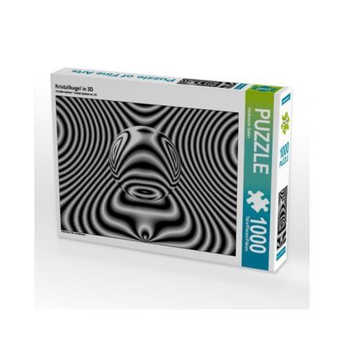 Kristallkugel in 3D Foto-Puzzle Bild von Heidemarie Sattler Puzzle