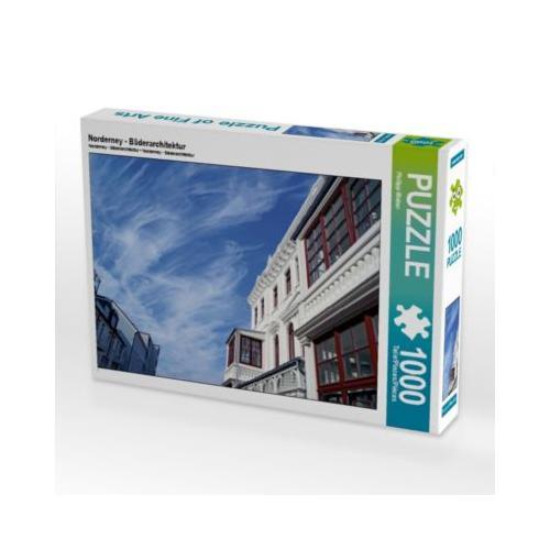 Norderney - Bäderarchitektur Foto-Puzzle Bild von Philipp Weber Puzzle