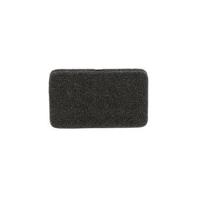 Wallet: Black Solid Bags