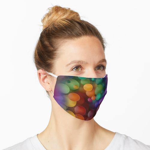 flauschige Bälle Maske