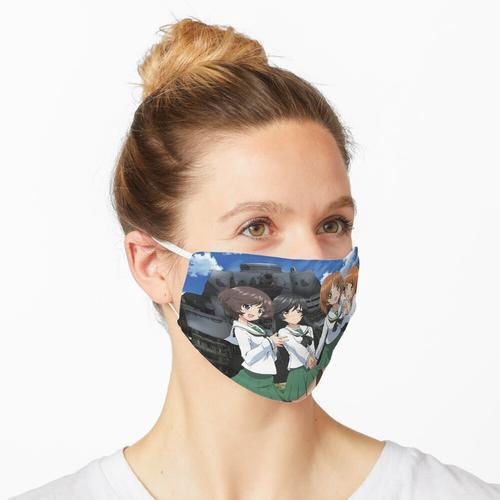 Girls Und Panzer - Puzzle Maske