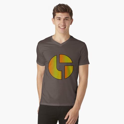 Disco-Kekse - Orange / Gelb t-shirt:vneck