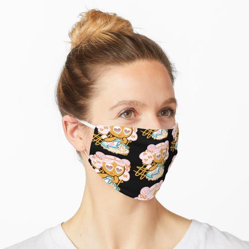 Zuckerwatte-Keks (Zuckerfächer-Kostüm) Maske