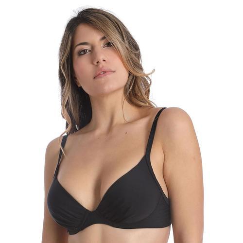Bikini-Top mit Schale BASIC BLACK sassa black