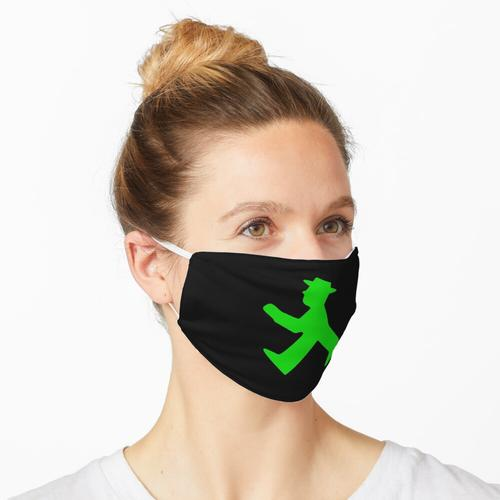 Ampelmann grün Maske