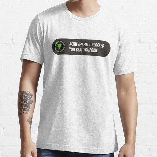 Erfolg freigeschaltet Du hast Youporn besiegt Essential T-Shirt