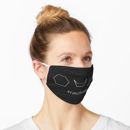 Cyclohexan-Konformationen weiß Maske