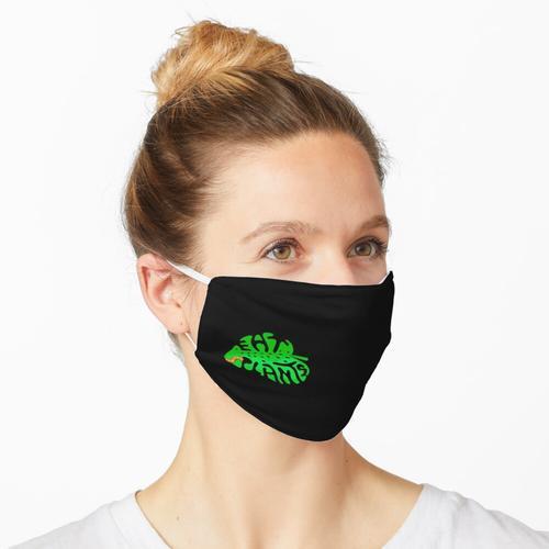 Essen Sie Pflanzenblatt Maske
