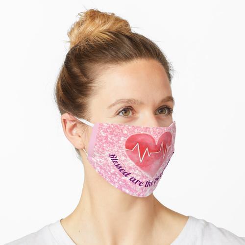 Gesegnet sind die Herzschrittmacher Maske