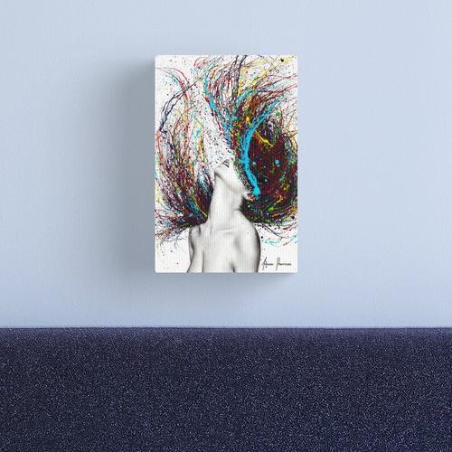 Excite Canvas Print