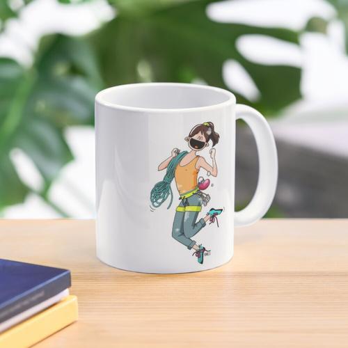 Happy climber Mug