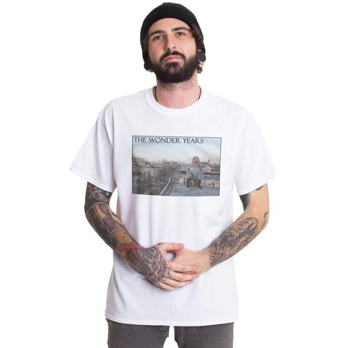 The Wonder Years - Rooftop White - - T-Shirts