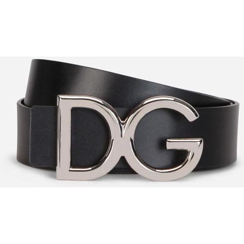 Dolce & Gabbana Gürtel Aus Getrommeltem Leder
