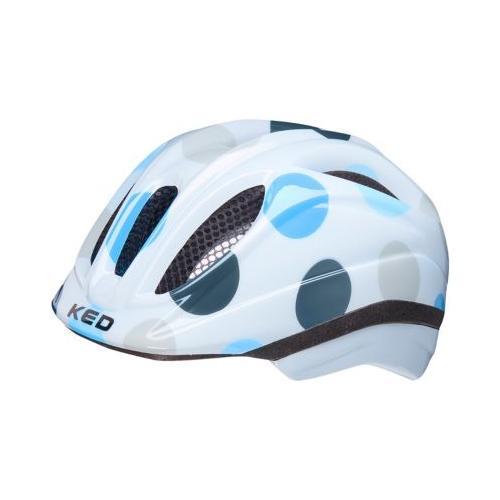 Fahrradhelm Meggy II Trend dots deep blue weiß Modell 1