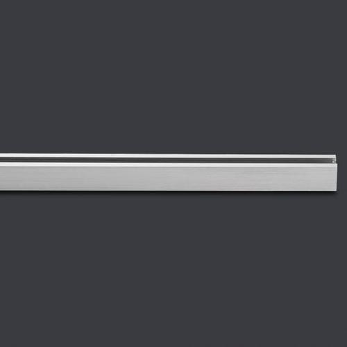 FISCHER & HONSEL Stromschiene für HV-Track 4 System B: 140 cm, nickel matt 24640