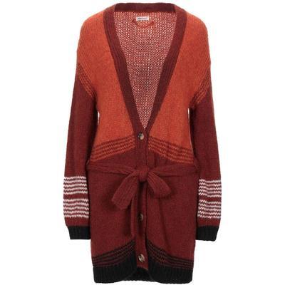 Cardigan - Orange - Roy Rogers Knitwear