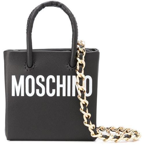 Moschino Mini-Tasche mit Logo-Print