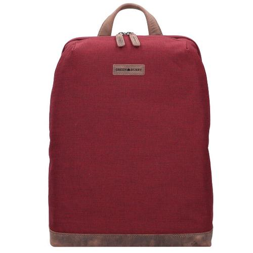 Greenburry Recycled PET Derby Rucksack 43 cm derby red