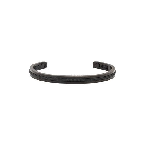 Pig & Hen Schmuck für Herren Stahl-Armbänder Black Black Navarch 6 mm M (18 cm) 1 Stk.