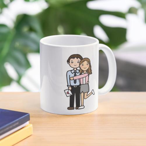 The Office Jim & Pam Mug