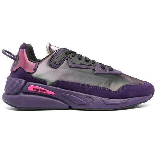 DIESEL Schimmernde Sneakers