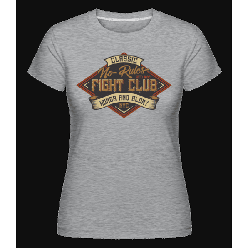 No Rules Fightclub - Shirtinator Frauen T-Shirt