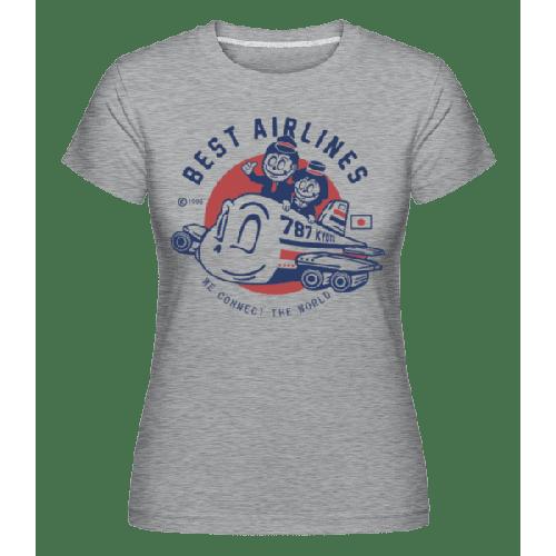 Best Airlines - Shirtinator Frauen T-Shirt
