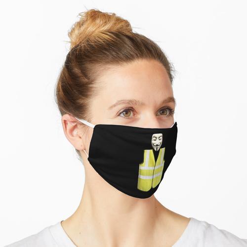 Gelbe Westen Maske
