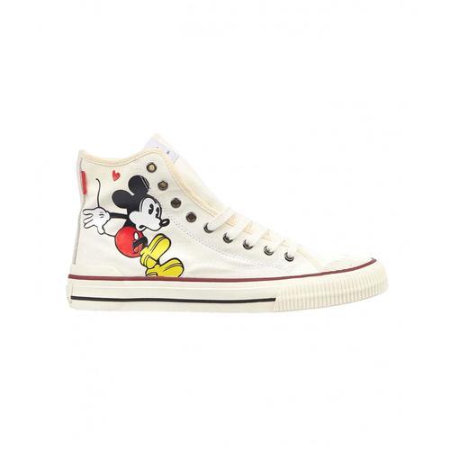 Moa Damen Disney Sneaker Weiß