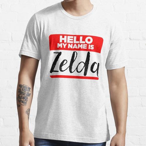 Mein Name ist Zelda - Namen Tag Hipster Sticker & Shirt Essential T-Shirt