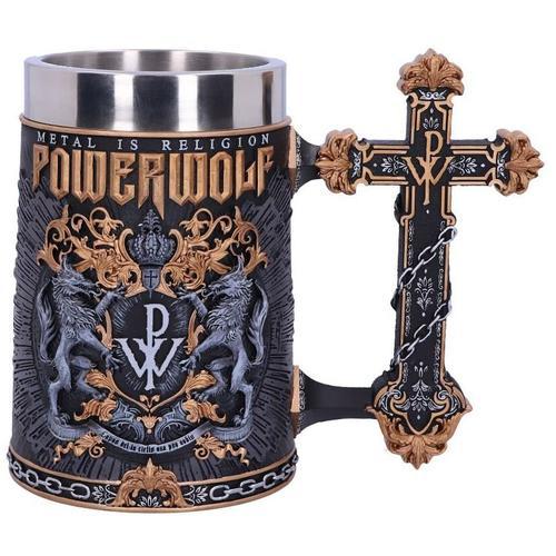 Powerwolf Powerwolf Logo Bierkrug - multicolor - Offizielles Merchandise