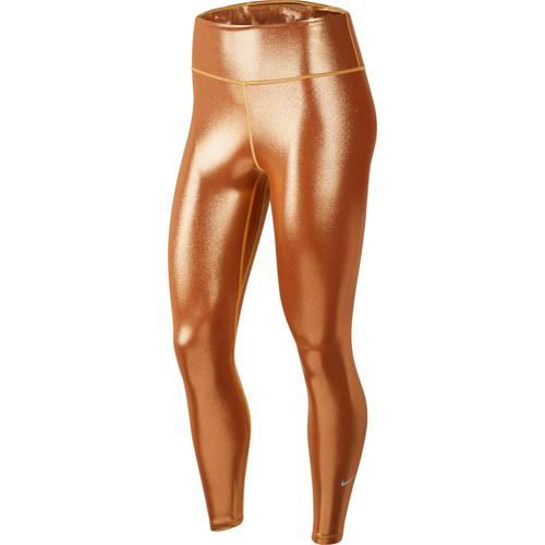 Nike One Tights Damen in gold-tawny-gold, Größe XS