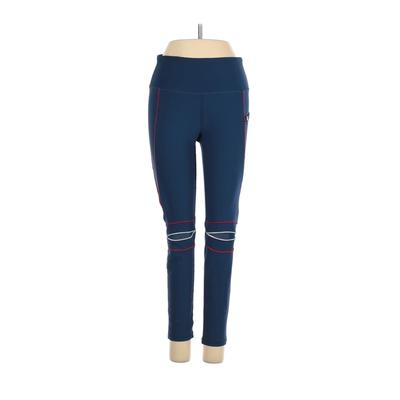 GX by Gottex Active Pants – Mid/Reg Rise: Blue Activewear – Size Small