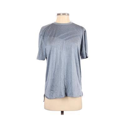 Avia Active T-Shirt: Blue Print Activewear – Size Small