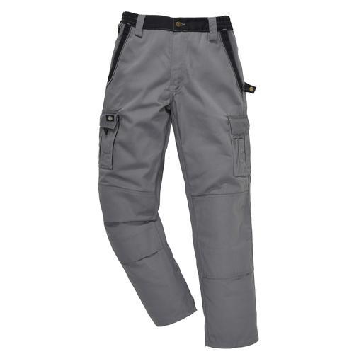 Dickies Arbeitshose Industry 300, mit dehnbarem Bund grau Herren Arbeitshosen Arbeits- Berufsbekleidung