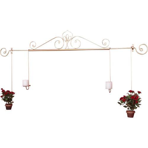 HOFMANN LIVING AND MORE Kerzenhalter, Kerzen-Wandleuchter, Kerzenhalter, Kerzenleuchter hängend, Wanddeko