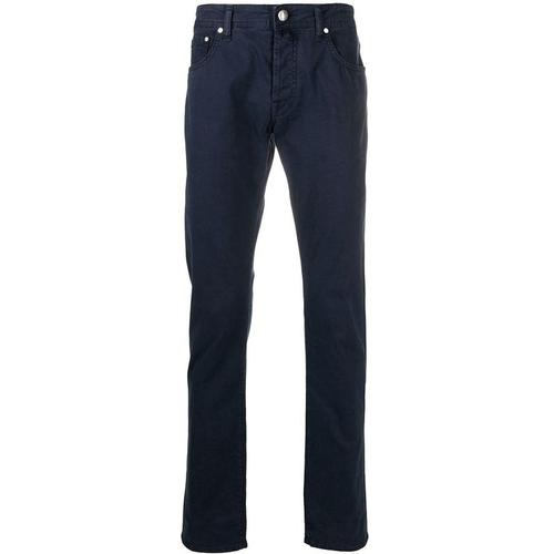 Jacob Cohen 'J688' Jeans mit Einstecktuch